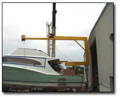 Load beams & rigging for boats